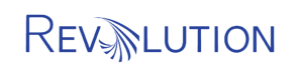 Transparent Revolution Logo rectangle correct blue